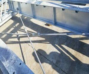estructura vigas puente metalico